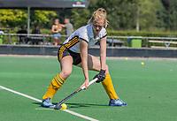 BLOEMENDAAL   - Elin van Erk (Vict) . oefenwedstrijd dames Bloemendaal-Victoria, te voorbereiding seizoen 2020-2021.   COPYRIGHT KOEN SUYK
