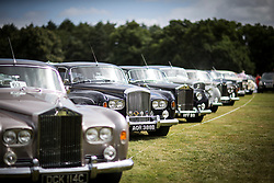 © Licensed to London News Pictures. 07/08/2016. Leeds UK. The 37th Rolls Royce North rally has taken place this weekend in the ground's of Harewood House in Yorkshire. The event bring's together some of the UK's most prized motor cars & their proud owners. Photo credit: Andrew McCaren/LNP