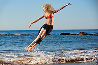 Dance As Art Photography Project- Coney Island featuring dancer,