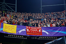 SEVILLE, SPAIN - Tuesday, November 21, 2017: Liverpool supporters during the UEFA Champions League Group E match between Sevilla FC and Liverpool FC at the Estadio Ramón Sánchez Pizjuán. (Pic by David Rawcliffe/Propaganda)