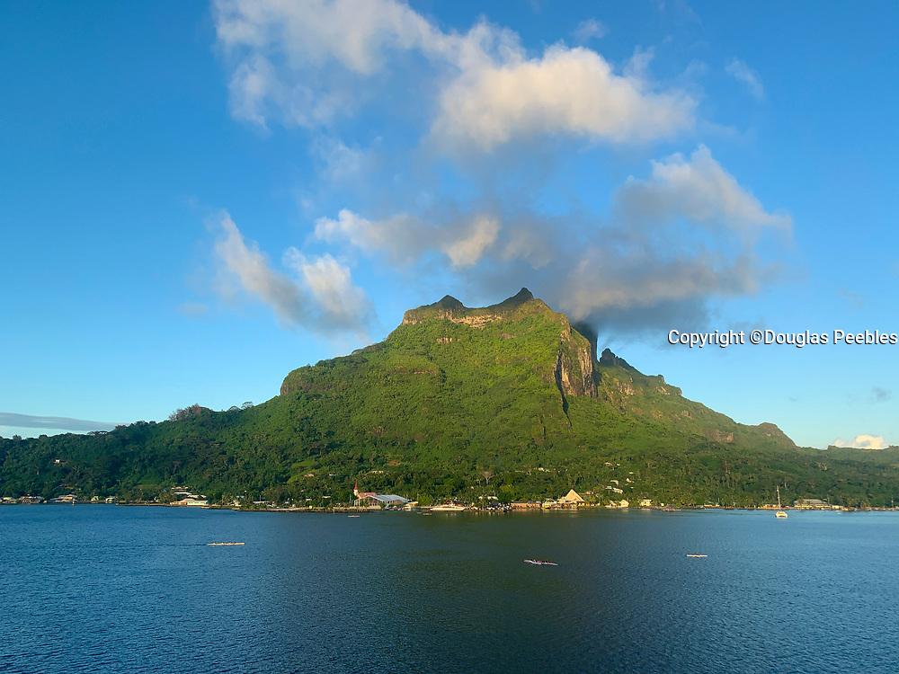 Vaitape, Bora Bora, Society Islands, French Polynesia; South Pacific