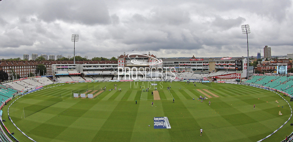 Ground shot of the Oval before the 1st day of the 5th Investec Ashes Test match between England and Australia at The Oval, London, United Kingdom on 20 August 2015. Photo by Phil Duncan.