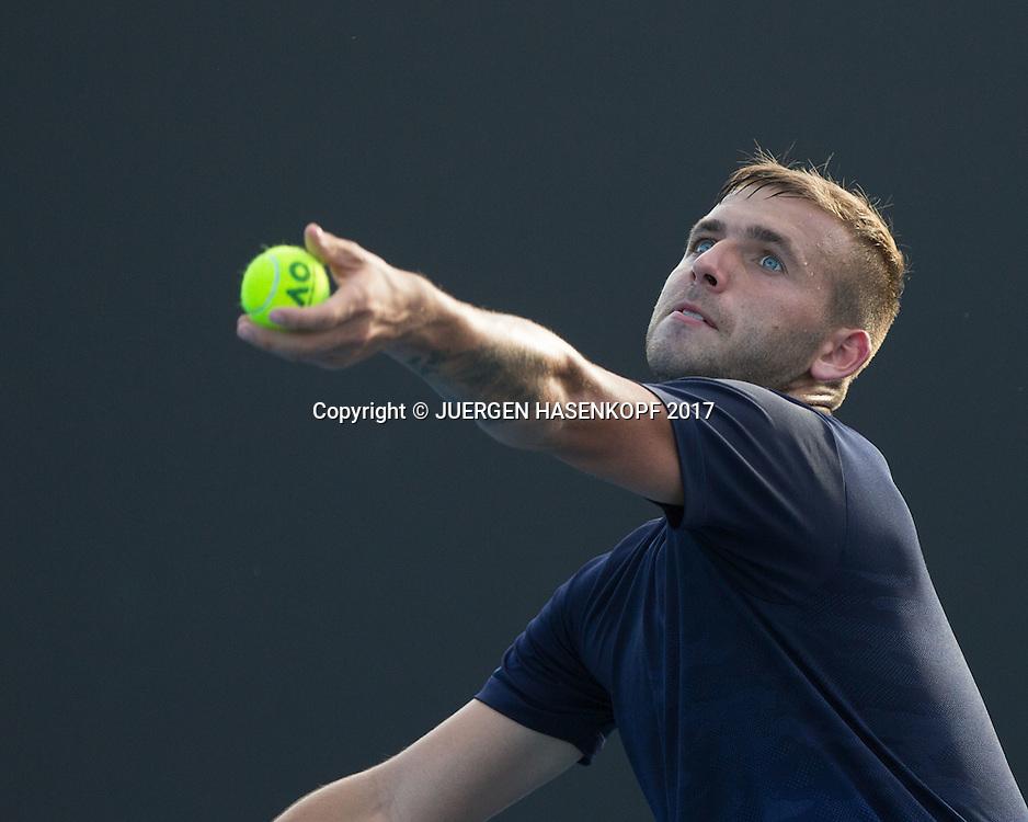 DANIEL EVANS (GBR)<br /> <br /> Australian Open 2017 -  Melbourne  Park - Melbourne - Victoria - Australia  - 16/01/2017.