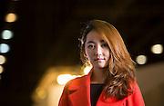 Frankfurt | Deutschland | 15.10.2015 : Park Yeon-mi (or Yeonmi Park; born 4 October 1993) is a North Korean defector and human rights activist who escaped to China in 2007 and settled in South Korea in 2009. <br /> <br /> hier: Park Yeon-mi during the Frankfurt Book-Fair<br /> <br /> Sascha Rheker<br /> 201501015<br /> <br /> [Inhaltsveraendernde Manipulation des Fotos nur nach ausdruecklicher Genehmigung des Fotografen. Vereinbarungen ueber Abtretung von Persoenlichkeitsrechten/Model Release der abgebildeten Person/Personen liegt/liegen nicht vor.]