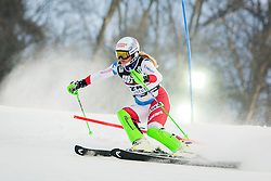 """Denise Feierabend (SUI) during FIS Alpine Ski World Cup 2016/17 Ladies Slalom race named """"Snow Queen Trophy 2017"""", on January 3, 2017 in Course Crveni Spust at Sljeme hill, Zagreb, Croatia. Photo by Žiga Zupan / Sportida"""