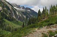 Hannegan Pass Trail, Mount Baker Wilderness, North Cascades Washington