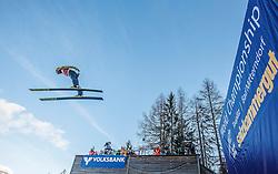 12.01.2014, Kulm, Bad Mitterndorf, AUT, FIS Ski Flug Weltcup, Qualifikation, im Bild Noriaki Kasai (JPN) // Noriaki Kasai of Japan during the qualifiying of FIS Ski Flying World Cup at the Kulm, Bad Mitterndorf, .Austria on 2014/01/12, EXPA Pictures © 2013, PhotoCredit: EXPA/ Erwin Scheriau