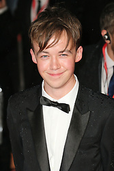 © Licensed to London News Pictures. 08/10/2014, UK. Alex Lawther, The Imitation Game - BFI London Film Festival Opening Night Gala, Leicester Square, London UK, 08 October 2014. Photo credit : Richard Goldschmidt/Piqtured/LNP