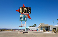 Roy's Cafe, Amboy, California on Route 66..A trip through parts of Route 66 from Southern California to Arizona.