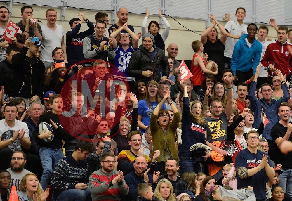 Bristol Flyers fans cheer - Photo mandatory by-line: Dougie Allward/JMP - Mobile: 07966 386802 - 17/01/2015 - SPORT - Football - Derby - iPro Stadium - Derby County v Nottingham Forest - Sky Bet Championship