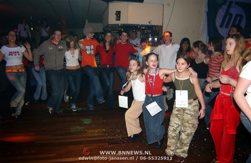 24 Uurs dansmarathon 2005 dansschool hans van Schaik Huizen