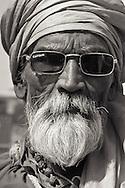 Man in Bhopal, India