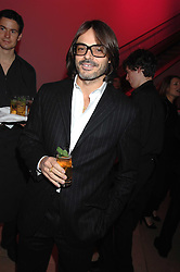 Photographer MARIO SORRENTI at the opening party for 'Face of Fashion' an exhibition of photographs by five of the World's leading fashion photographers held at the National Portrait Gallery, St.Martin's Lane, London on 12th February 2007.<br />