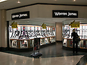 Warren James jewellers shop clearance sale, Tower Ramparts shopping centre, Ipswich