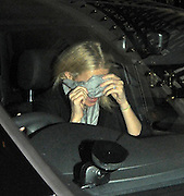 29.MARCH.2011. LONDON<br /> <br /> *THESE PICTURES ARE EXCLUSIVE*<br /> *PLEASE CONTACT EDBIMAGEARCHIVE*<br /> <br /> GWYNETH PALTROW LEAVING LOCANDA LOCATELLI RESTAURANT IN MAYFAIR AT 12.30AM VIA THE CAR PARK AND WAS CLOSLEY FOLLOWED BEHIND IN A SEPERATE CAR BY GLEE STAR MATTHEW MORRISON. THEY THEN HEADED TO GROSVENOR HOUSE HOTEL WHERE THEY STAYED TILL 2.00AM AND GWYNETH LEFT LAUGHING BUT THEN TRIED TO HIDE HER FACE AS SHE LEFT WHILE MATTHEW LEFT 10 MINUTES AFTER LYING DOWN IN THE CAR TRYING NOT TO BE SEEN AND HEADED ONTO BOUJIS NIGHT CLUB IN KNIGHTSBRIDGE.<br /> <br /> BYLINE: EDBIMAGEARCHIVE.COM<br /> <br /> *THIS IMAGE IS STRICTLY FOR UK NEWSPAPERS AND MAGAZINES ONLY*<br /> *FOR WORLD WIDE SALES AND WEB USE PLEASE CONTACT EDBIMAGEARCHIVE - 0208 954 5968*