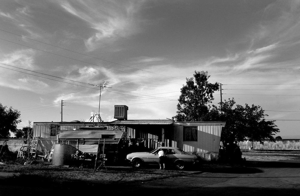 Andina Village trailer park in Olivehurst, CA.