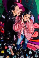 São Paulo, SP - Retratos das DJs The Ladies para CD demo e promocional - 10/01/2009