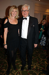 SIR JEREMY DIXON and tv presenter JULIA SOMERVILLE at the Costa Book Awards 2006 held at The Grosvenor House Hotel, Park Lane, London W1 on 7th February 2007.<br />