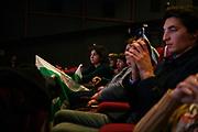 Political meeting organized by the Democratic Party (PD) for the upcoming general political election in Rome, Italy on February 27, 2018.Christian Mantuano / OneShot<br /> <br /> Iniziativa elettorale del Partito Democratico al Cinema Adriano in vista delle prossime elezioni politiche, Roma 04 Febbraio 2018. Christian Mantuano / OneShot