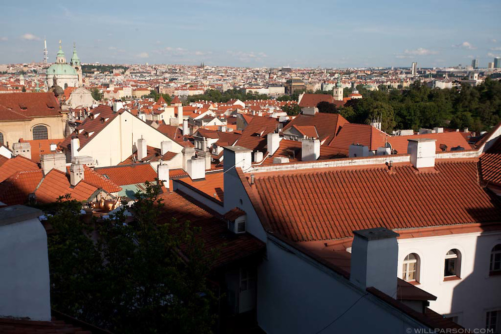 Prague, Czech Republic in summer.