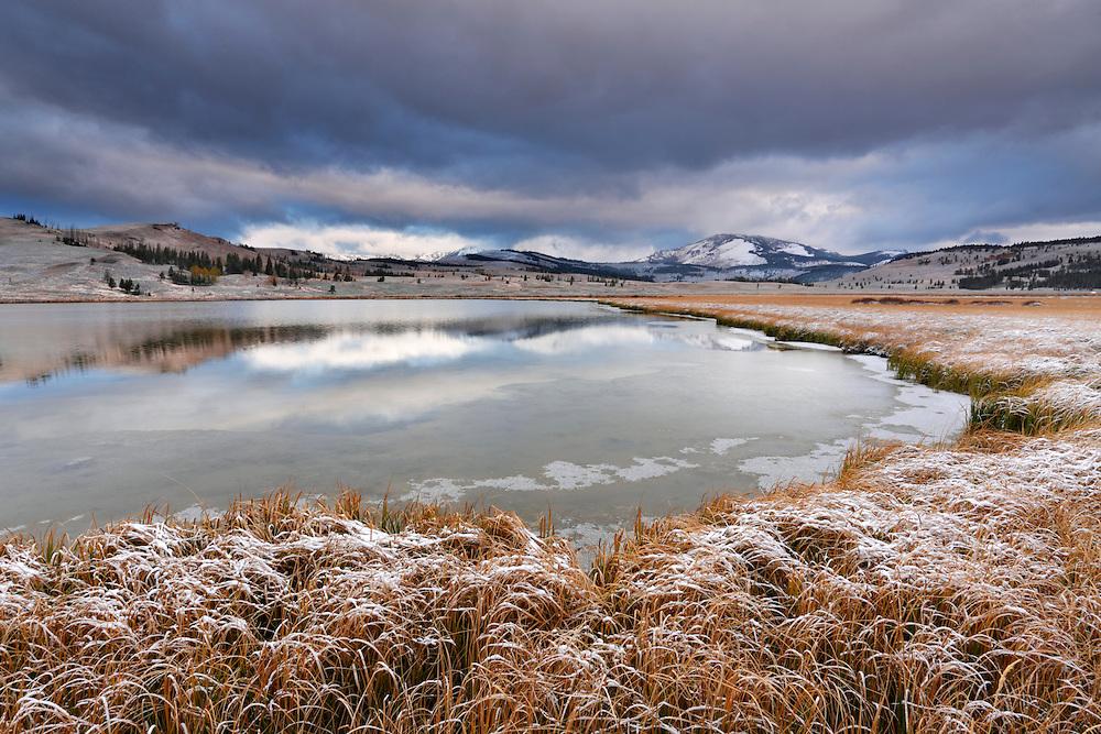 Swan Lake, Yellowstone NP, Wyoming (Estados Unidos)