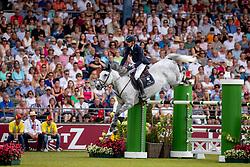 VON ECKERMANN Henrik (SWE), Castello<br /> Aachen - CHIO 2018<br /> Rolex Grand Prix 2. Umlauf<br /> Der Grosse Preis von Aachen<br /> 22. Juli 2018<br /> © www.sportfotos-lafrentz.de/Stefan Lafrentz