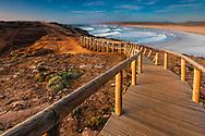 Sea shore of Vicentina Natural Park in Portugal