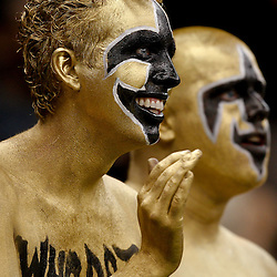 September 9, 2010; New Orleans, LA, USA;  New Orleans Saints fans cheer prior to kickoff of the NFL Kickoff season opener at the Louisiana Superdome. The New Orleans Saints defeated the Minnesota Vikings 14-9.  Mandatory Credit: Derick E. Hingle