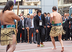 Auckland-Rugby, RWC, Japan arrive
