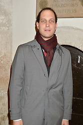 LORD FREDERICK WINDSOR at the fourth annual Fayre of St James's charity Christmas concert hosted by the Quintessentially Foundation and The Crown Estate in partnership with Deutsche Asset & Wealth Management held at  St James's Church, 197 Piccadilly, London followed by a party at Quaglino's 16 Bury Street, London on 24th November 2015.