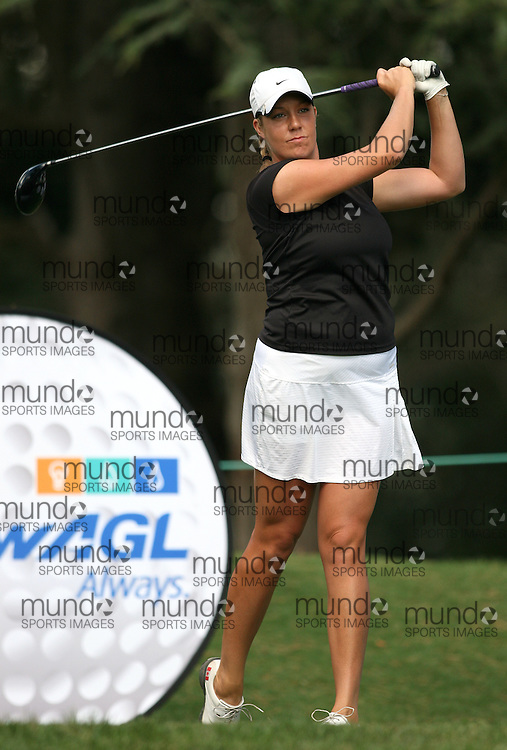 (Canberra, Australia---28 January 2011) Jessica Shepley of Canada playing in the first round of the ActewAgl Royal Canberra Ladies golf tournament as part of the 2011 Australian Ladies Pro Golf Tour./ 2011 Copyright Sean Burges. For Australian editorial sales, contact seanburges@yahoo.com.