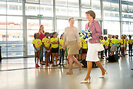ROTTTERDAM - Prinses Margriet der Nederlanden is zaterdag 4 juli aanwezig bij het honderdste bezoek van het ms Rotterdam aan de haven van Rotterdam. COPYRIGHT ROBIN UTRECHT<br /> ROTTTERDAM - Princess Margriet of the Netherlands Saturday, July 4th attended the hundredth visit of ms Rotterdam to the port of Rotterdam. COPYRIGHT ROBIN UTRECHT