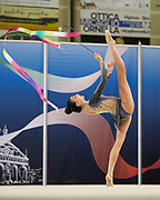 Alessia Russo from Armonia D'Abruzzo team during the Italian Rhythmic Gymnastics Championship in Padova, 25 November 2017.