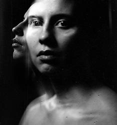 Daria, double exposure by Astrid Riecken