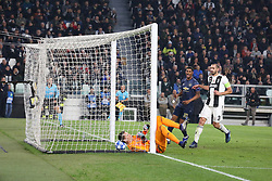 November 7, 2018 - Turin, Piedmont, Italy - Wojciech Szczesny (Juventus FC) suffers a goal from Juan Mata (Manchester Utd. FC) during the UEFA Champions League match between Juventus FC and Manchester United FC,  at Allianz Stadium on November 07, 2018 in Turin, Italy..Juventus FC lost 1-2 against Manchester United. (Credit Image: © Massimiliano Ferraro/NurPhoto via ZUMA Press)