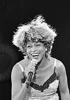 Tina Turner in concert at Croke Park. 28/6/96. (Part of the Irish Independent Newspapers/NLI Collection)