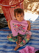Laos, Oudomxay Province. Ban Baw (Baw village).
