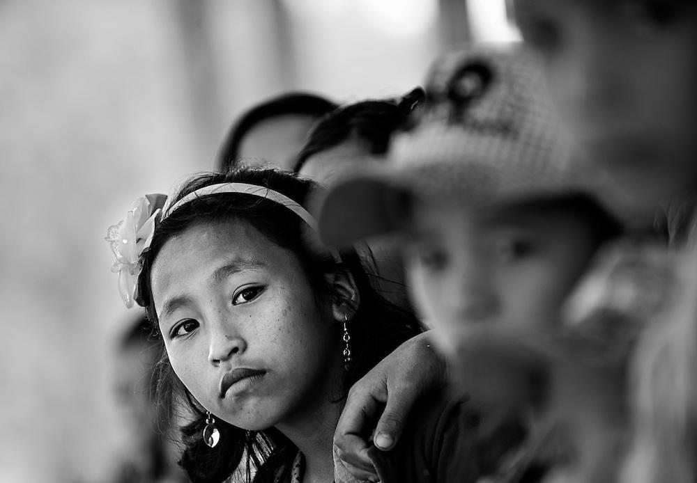Akha girl near Luang Namtha, Laos.