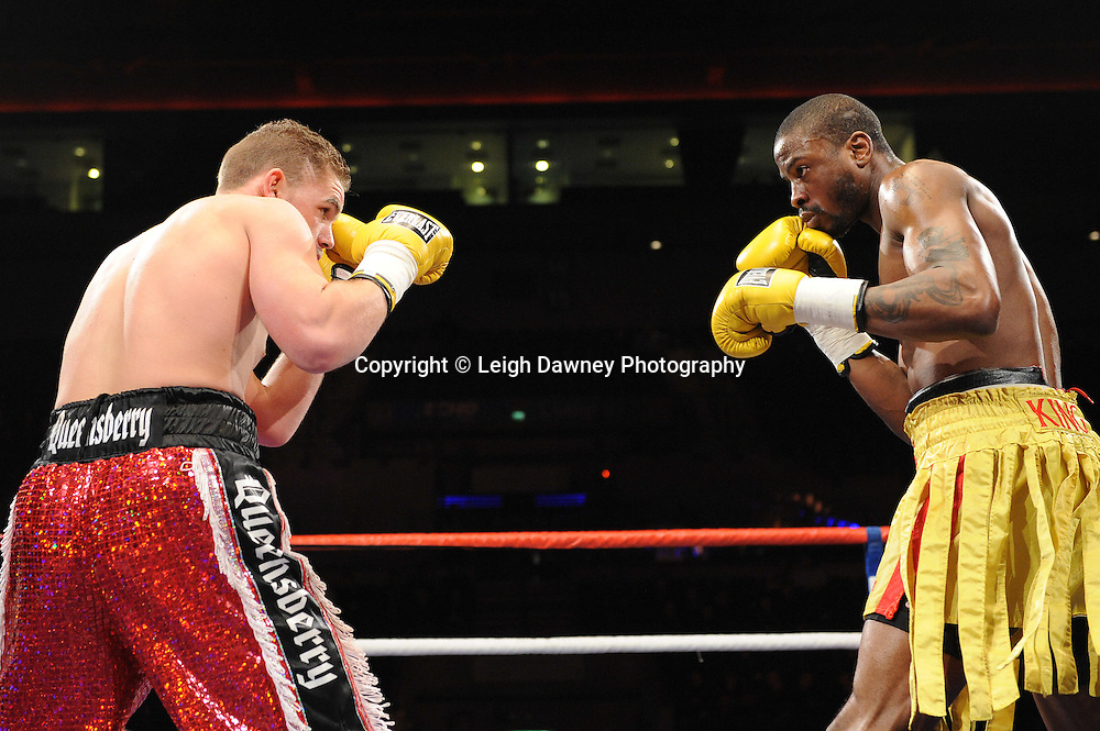 """Billy Joe Saunders defeats Tony Randell at the Echo Arena, Lverpool,11th December 2010,Frank Warren.tv Promotions """"Return Of The Magnificent Seven"""" © Photo Leigh Dawney"""