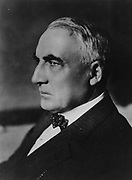Warren Harding (1885-1923) 29th President of the United States of America , 1921-1923. Harding died  of a heart attack or stroke on 2 August 1923 and was succeeded by his Vice-President Calvin Coolidge.