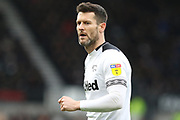 Derby County forward David Nugent during the EFL Sky Bet Championship match between Derby County and Sheffield Wednesday at the Pride Park, Derby, England on 9 March 2019.