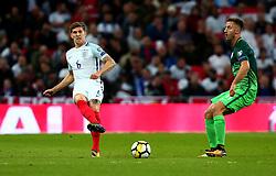 John Stones of England passes the ball - Mandatory by-line: Robbie Stephenson/JMP - 05/10/2017 - FOOTBALL - Wembley Stadium - London, United Kingdom - England v Slovenia - World Cup qualifier