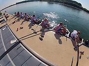 Caversham, Great Britain, Go Pro on Time lapse, on the boating dock at the GB Rowing media day at the Redgrave Pinsent Rowing Lake. GB Rowing Training centre.  Thursday  19/05/2011 [Mandatory Credit. Peter Spurrier/Intersport Images]