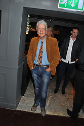 NICKY HASLAM at the launch party for Barberella, 428 Fulham Road, London SW6 on 17th October 2012.