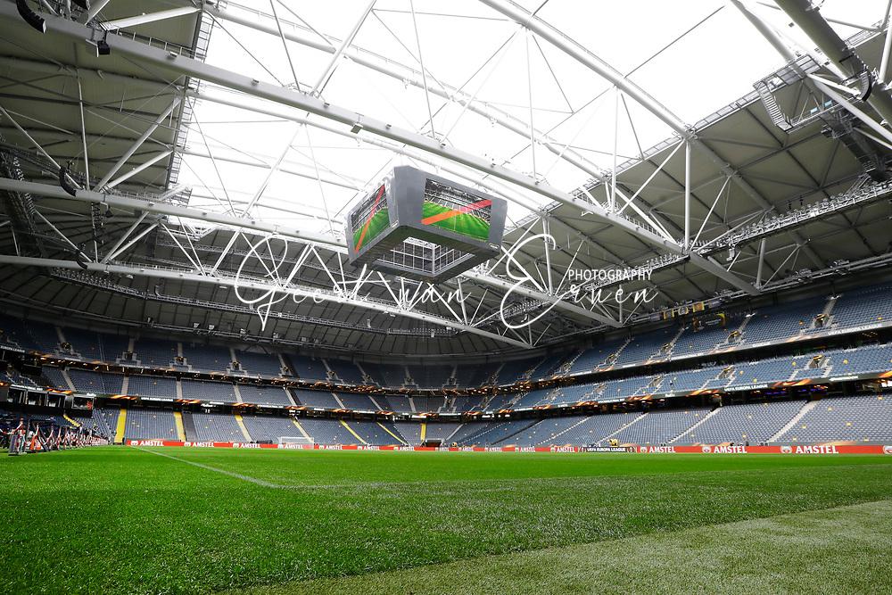 23-05-2017 VOETBAL:FINALE EUROPA LEAGUE:STOCKHOLM<br /> <br /> Ajax traint in het stadion dag voor de wedstrijd. Manchester United proefde alleen aan het veld vanwege de aanslag in Manchester - Friends Arena Stockholm<br /> <br /> Foto: Geert van Erven