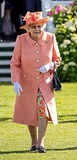 Queen and The Duke of Edinburgh at the Guards Polo Club - 24 June 2018