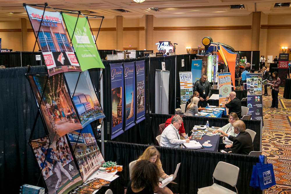 November 11, 2015, Las Vegas, Nevada:<br /> The expo trade show floor is shown during the TEAMS Conference &amp; Expo at Mandalay Bay Convention Center in Las Vegas, Nevada Wednesday, November 11, 2015.<br /> (Photo by Billie Weiss/TEAMS)