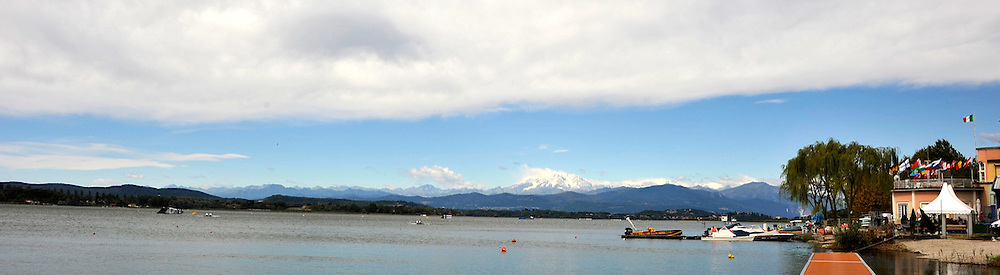 Varese,  ITALY. 2012 FISA European Championships, Lake Varese Regatta Course.  ..General Views of the Varese Course..12:05:17  Thursday  13/09/2012 ...[Mandatory Credit Peter Spurrier:  Intersport Images]  ..2012 European Rowing Championships {filename].....
