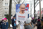 CANDY APPLE; CARL APPLE,     , Womens's March on  Washington DC. 21 January 2017