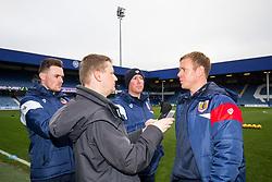 Bristol City Assistant Head Coach Dean Holden is interviewed before the game - Rogan/JMP - 23/12/2017 - Loftus Road - London, England - Queens Park Rangers v Bristol City - Sky Bet Championship.